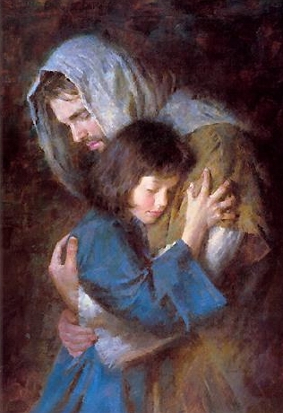 Jesus Comforting Pictures http://whiteangel33.wordpress.com/category/inspiring-messages/page/3/